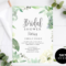 Bridal Shower Invitation Template Pertaining To Bridal Shower Invite Template