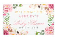 Bridal Shower Poster Template – Colona.rsd7 throughout Bridal Shower Banner Template