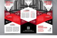 Brochure 3 Fold Flyer Design A4 Template regarding 3 Fold Brochure Template Free