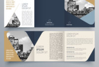 Brochure Design Brochure Template throughout Architecture Brochure Templates Free Download