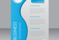 Brochure Template Business Flyer Editable A4 with regard to Brochure Templates Adobe Illustrator