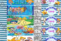 Bubble Guppies Birthday Personalized Water And 23 Similar Items intended for Bubble Guppies Birthday Banner Template