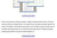 Bureau De Change Business Planwan Hoovler – Issuu in Acupuncture Business Plan Template