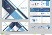 Business Brochure Design Template And Page Layout For intended for Business Profile Template Free Download