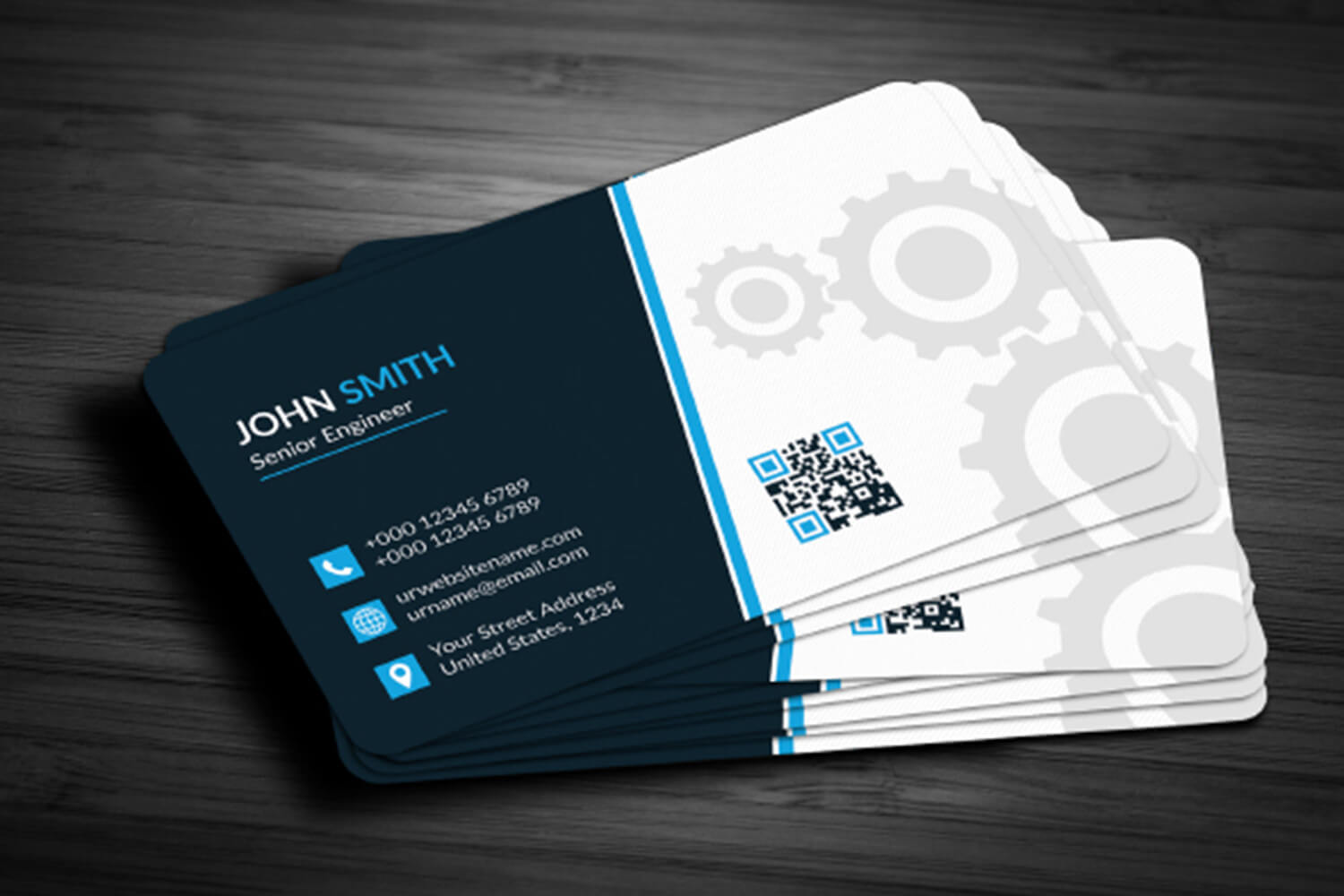Business Card Template Free Download – Maxpoint Hridoy Pertaining To Business Logo Templates Free Download