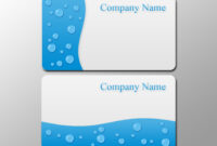 Business Card Template Photoshop – Blank Business Card with regard to Business Card Size Photoshop Template