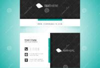 Business Card Vector Template Stock Vector – Illustration Of regarding Adobe Illustrator Business Card Template