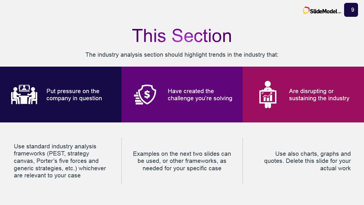 Business Case Study Powerpoint Template - Slidemodel Throughout Business Case Presentation Template Ppt