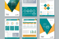 Business Company Profile Report And Brochure Layout Template with regard to Business Flyer Templates Free Printable
