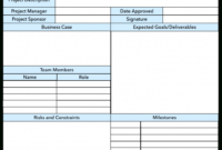 Business Ct Plan Plans Steps To Create Management Template pertaining to Business Charter Template Sample