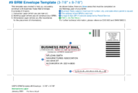 Business Envelope Template – 4 Free Templates In Pdf, Word regarding Business Reply Mail Template
