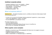 Business Ethics – Lecture Notes – Man1090 – Surrey – Studocu pertaining to Business Ethics Policy Template