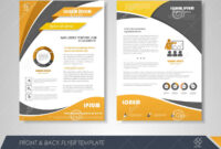 Business Flyer Template Stock Vector. Illustration Of with regard to 1 Page Flyer Template