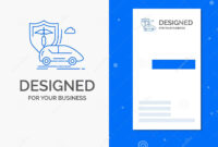 Business Logo For Car, Hand, Insurance, Transport, Safety pertaining to Car Insurance Card Template Download