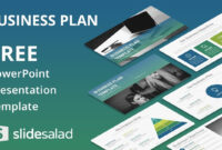 Business Plan Free Powerpoint Template Design Slidesalad regarding Business Card Template Powerpoint Free