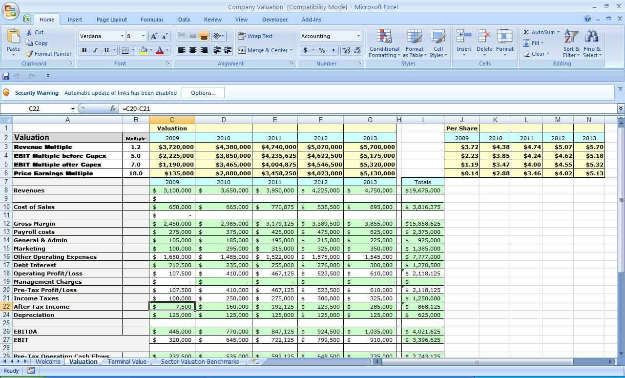 Business Plan Spreadsheet E Xls Stark Houseofstrauss Co With Regard To Business Plan Template Excel Free Download