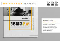 Business Plan Template – Vsual inside Business Plan Template Indesign