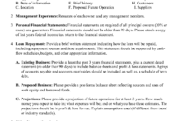 Business Plans Online Magazine Plan Sample For Bank Loan Pdf in Business Proposal Template For Bank Loan