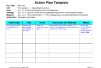 Business Plans Planning Process Example Personal Improvement for Business Process Improvement Plan Template