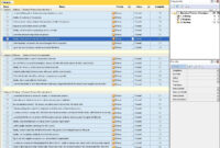 Business Templates throughout Business Process Inventory Template