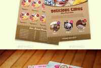 Cake Flyer Graphics, Designs & Templates From Graphicriver inside Cake Flyer Template Free