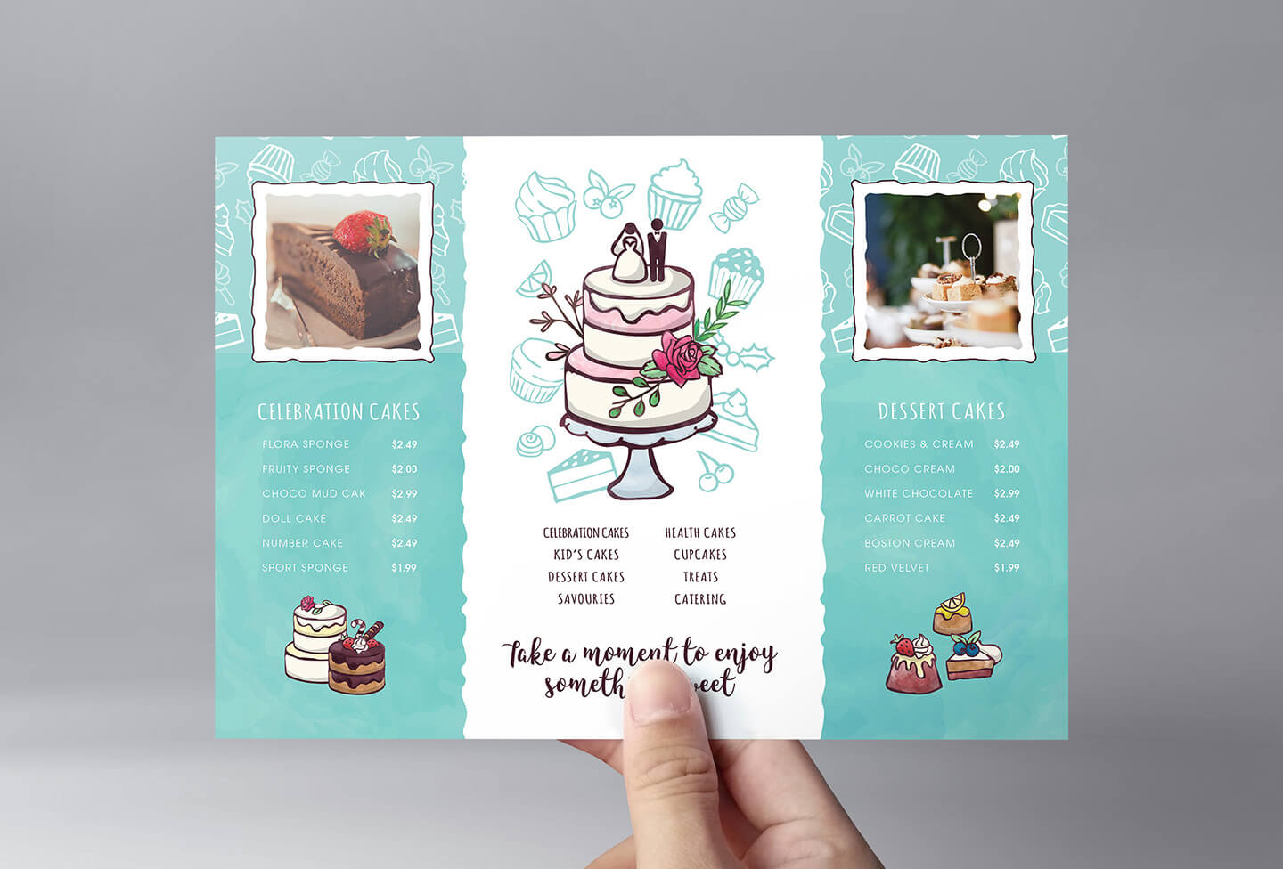 Cake Shop Flyer Template In Psd, Ai & Vector – Brandpacks In Cake Flyer Template Free