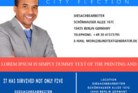 Campaign With These Elegant Free Political Campaign Flyer throughout Campaign Flyer Template