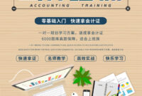 Campus Recruitment Accountant Training Poster Template For inside Accounting Flyer Templates