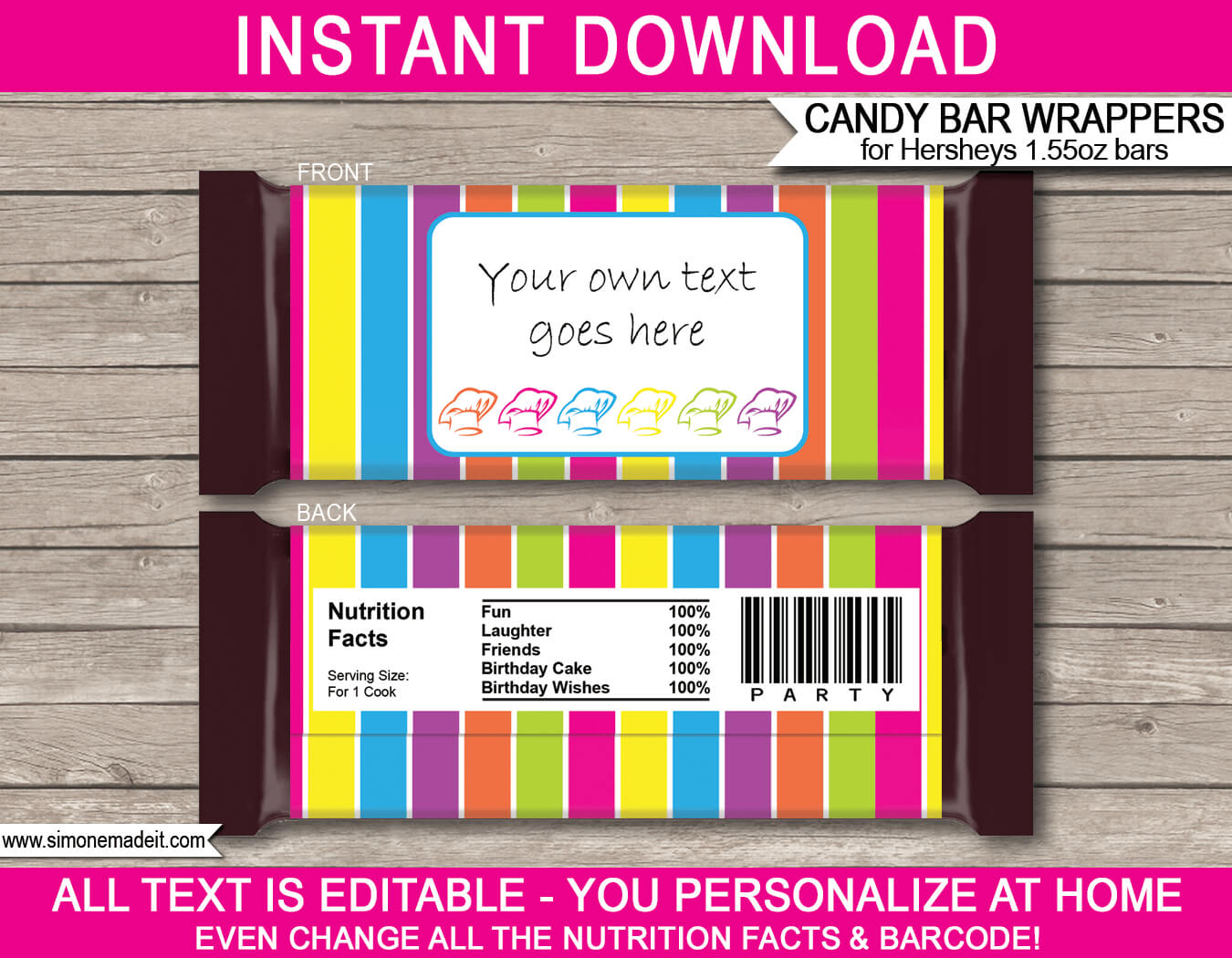 Candy Bar Wrapper Template For Mac – Ameasysite For Candy Bar Label Template