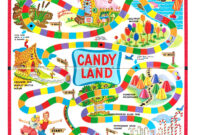 Candyland Board Template. Game Board Template Candyland within Blank Candyland Template