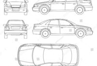 Car Line Draw Insurance, Rent Damage,… Stock Photo 309121718 intended for Car Damage Report Template