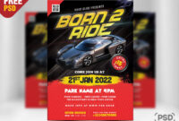 Car Show Event Flyer Psd Template – Psd Zone throughout Car Show Flyer Template