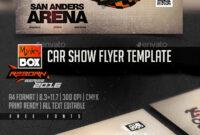 Car Show Flyer Template Graphics, Designs & Templates regarding Car Show Flyer Template