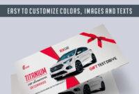 Car Showroom – Premium Gift Certificate Psd Template within Automotive Gift Certificate Template