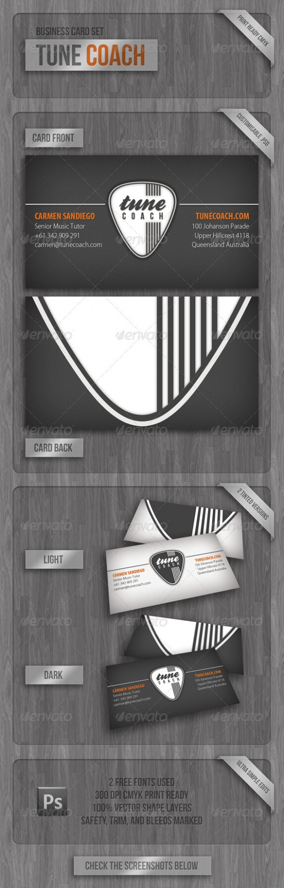 Cardview – Business Card & Visit Card Design Inspiration Pertaining To Business Cards For Teachers Templates Free