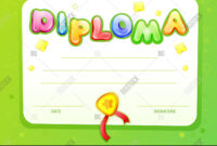 Cartoon Kids Image & Photo (Free Trial) | Bigstock with Certificate Of Achievement Template For Kids
