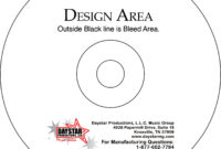 Cd Face Template – Colona.rsd7 regarding Cd Stomper 2 Up Standard With Center Labels Template