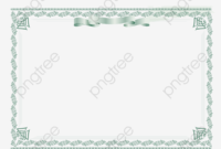 Certificate Border Design, Vector Diagram, Certificate inside Certificate Border Design Templates