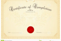 Certificate / Diploma Background Template. Floral Stock within Certificate Scroll Template