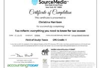 Certificate Examples – Simplecert for Ceu Certificate Template