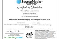 Certificate Examples – Simplecert throughout Ceu Certificate Template