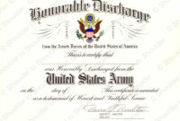 Certificate Of Achievement Army Form pertaining to Army Certificate Of Achievement Template