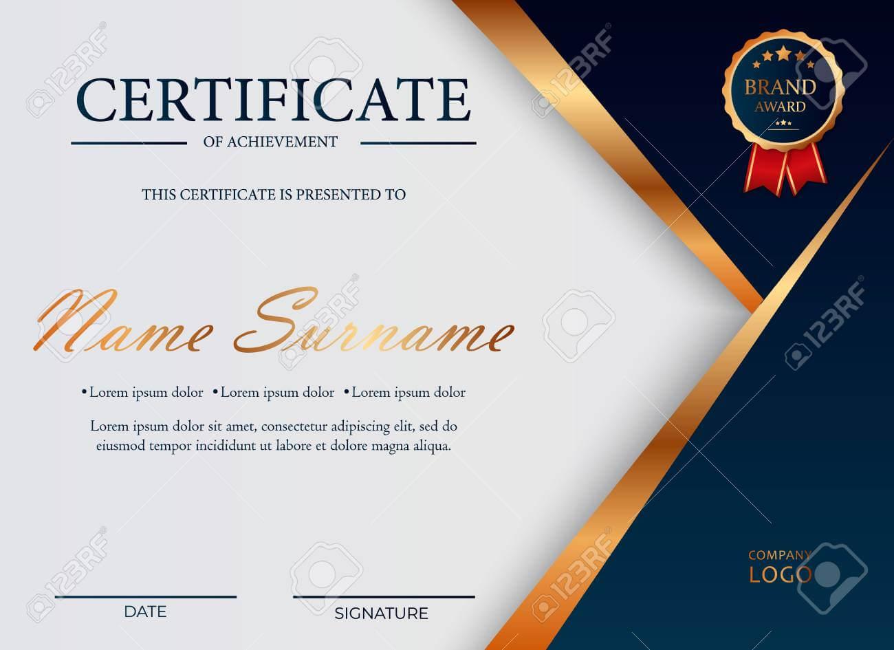 Certificate Of Appreciation, Award Diploma Design Template. Certificate.. With Award Certificate Design Template