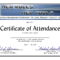 Certificate Of Attendance Conference Template ] - Of intended for Certificate Of Attendance Conference Template