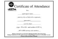 Certificate Of Attendance Template Word Ukran Agdiffusion inside Attendance Certificate Template Word
