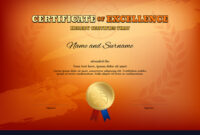 Certificate Template In Basketball Sport Theme in Basketball Certificate Template