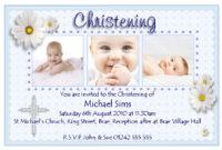 Christening Invitation Cards : Christening Invitation Cards intended for Baptism Invitation Card Template