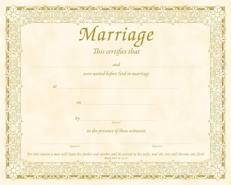 Christian Certificate Template ] - Christian Marriage In Christian Certificate Template