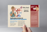 Christian Church Flyer Template In Psd, Ai & Vector in Bible Study Flyer Template Free