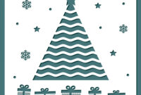 Christmas Card Template With Laser Cutting pertaining to Adobe Illustrator Christmas Card Template